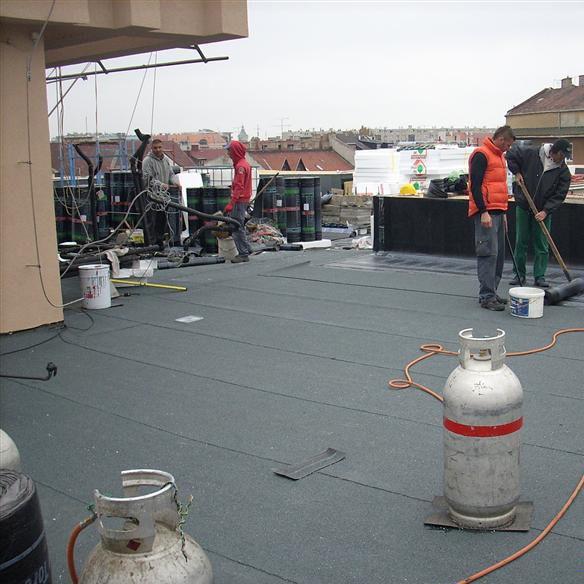 Trendig Bitumen-Abdichtungsbahn / Polyester / Glasfaser / Dach - SPIDER P  AE75