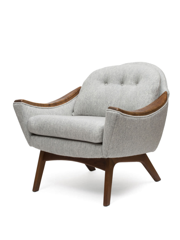 Klassischer Sessel Textilfaser Vintage Holland Sherry