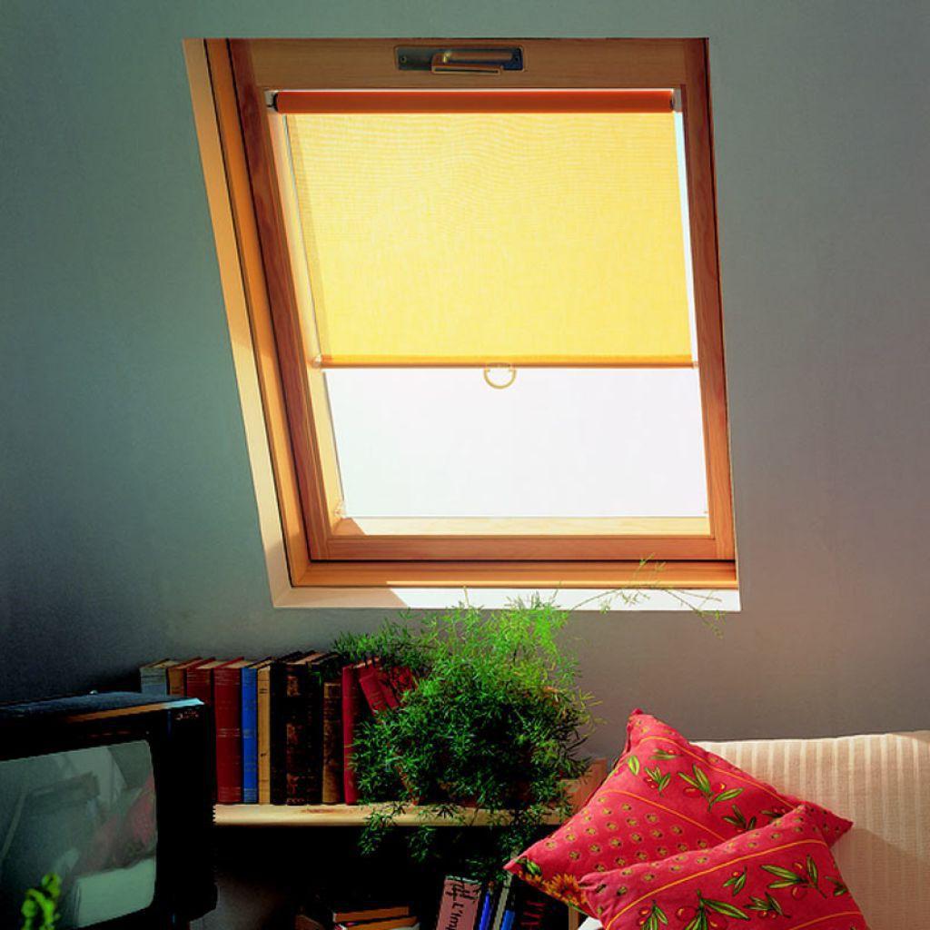 Leinen-Rollo / für Dachfenster / maßgefertigt - STORE FENETRE DE ...
