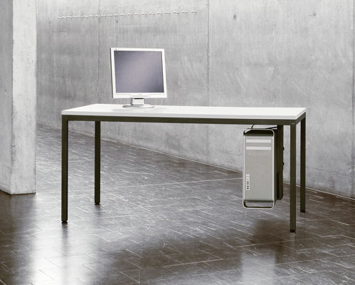 Computertisch modern  Moderner Computertisch / Metall / rechteckig / für Schulen - 1795 ...
