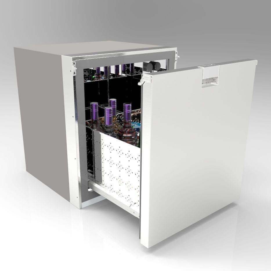 Kühlschrank Schublade : Schubladen kühlschrank edelstahl fc1 frigonautica srl