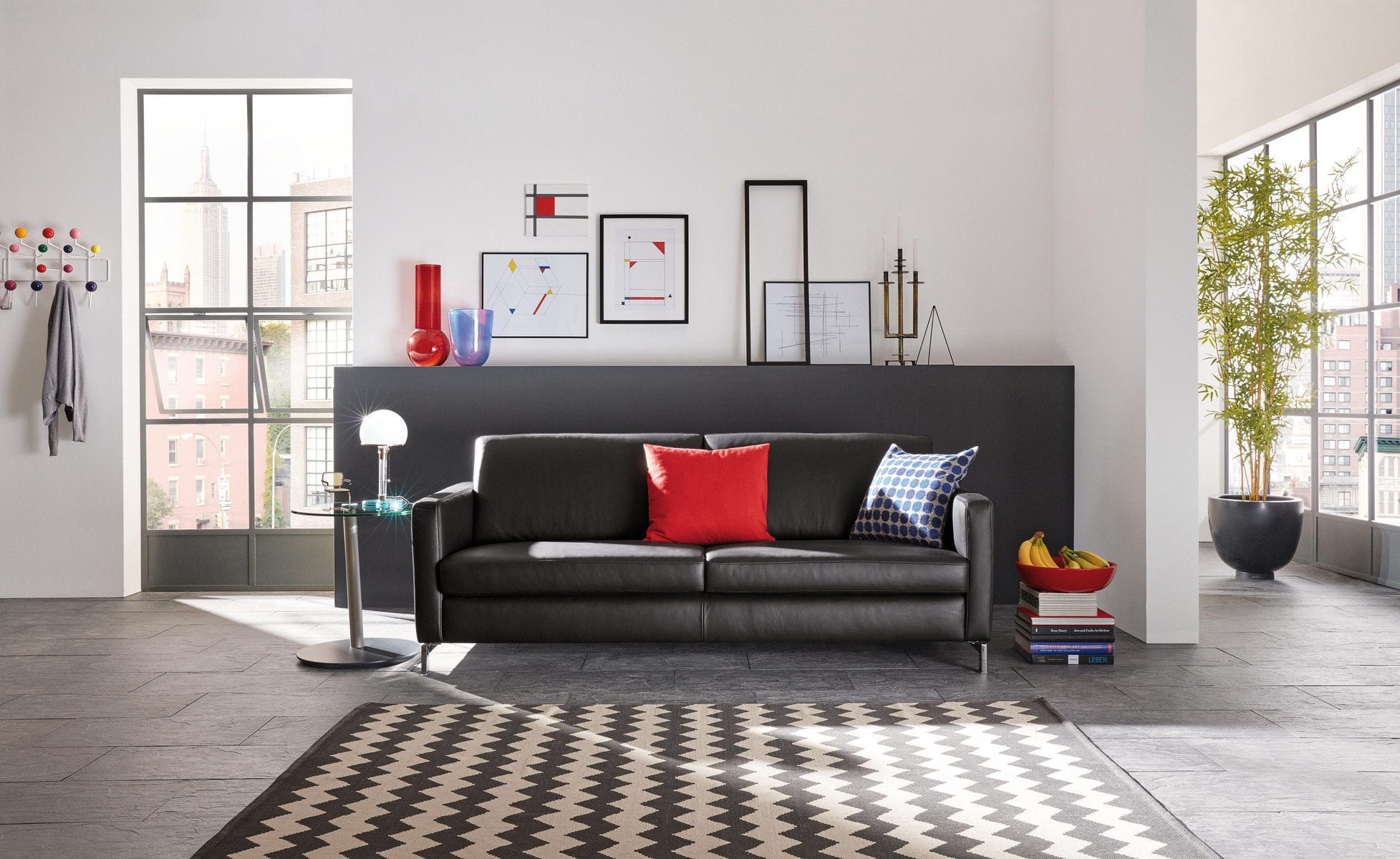 Modulierbares Sofa Modern Leder Kopfstütze Mr 2875 Musterring