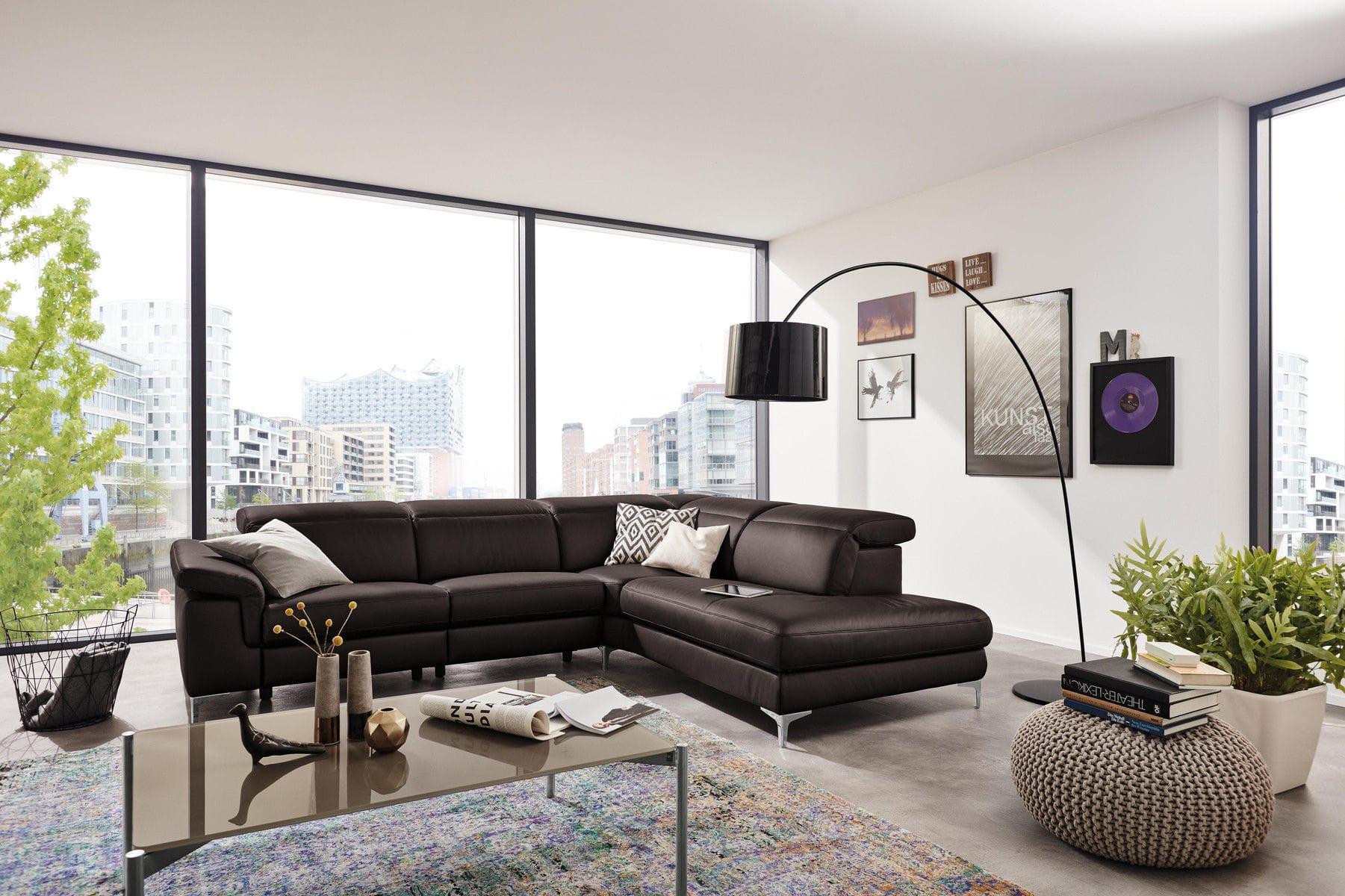 Modulierbares Sofa Eck Modern Leder Mr 4930 Musterring