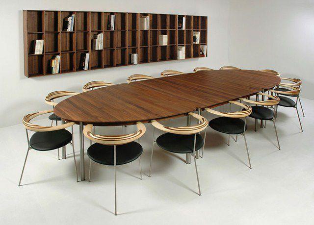 Fantastisch Moderner Tisch / Holz / Oval   NAUTILUS By Indigo
