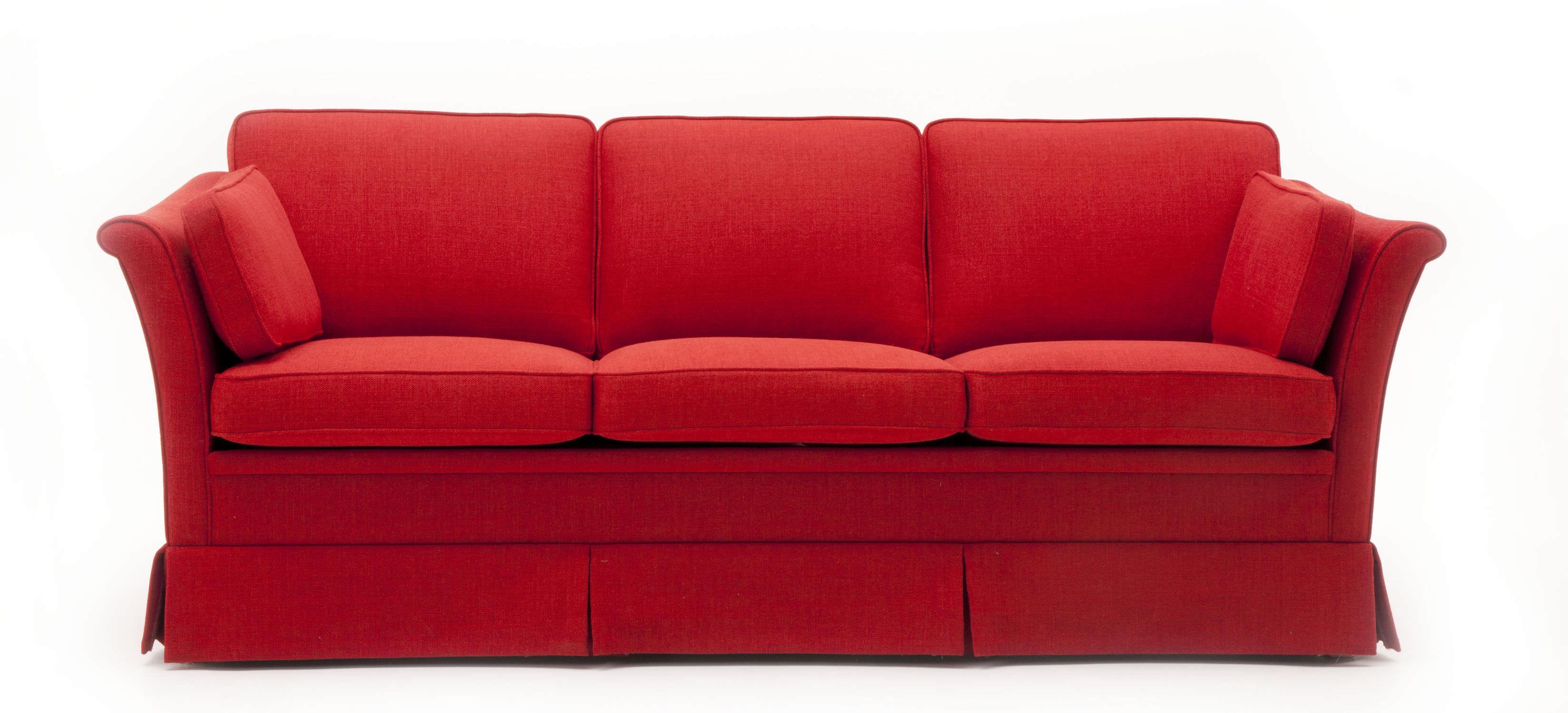 Bemerkenswert Sofa Mit Abnehmbaren Bezug Sammlung Von Klassisches / Stoff / 3 Plätze /