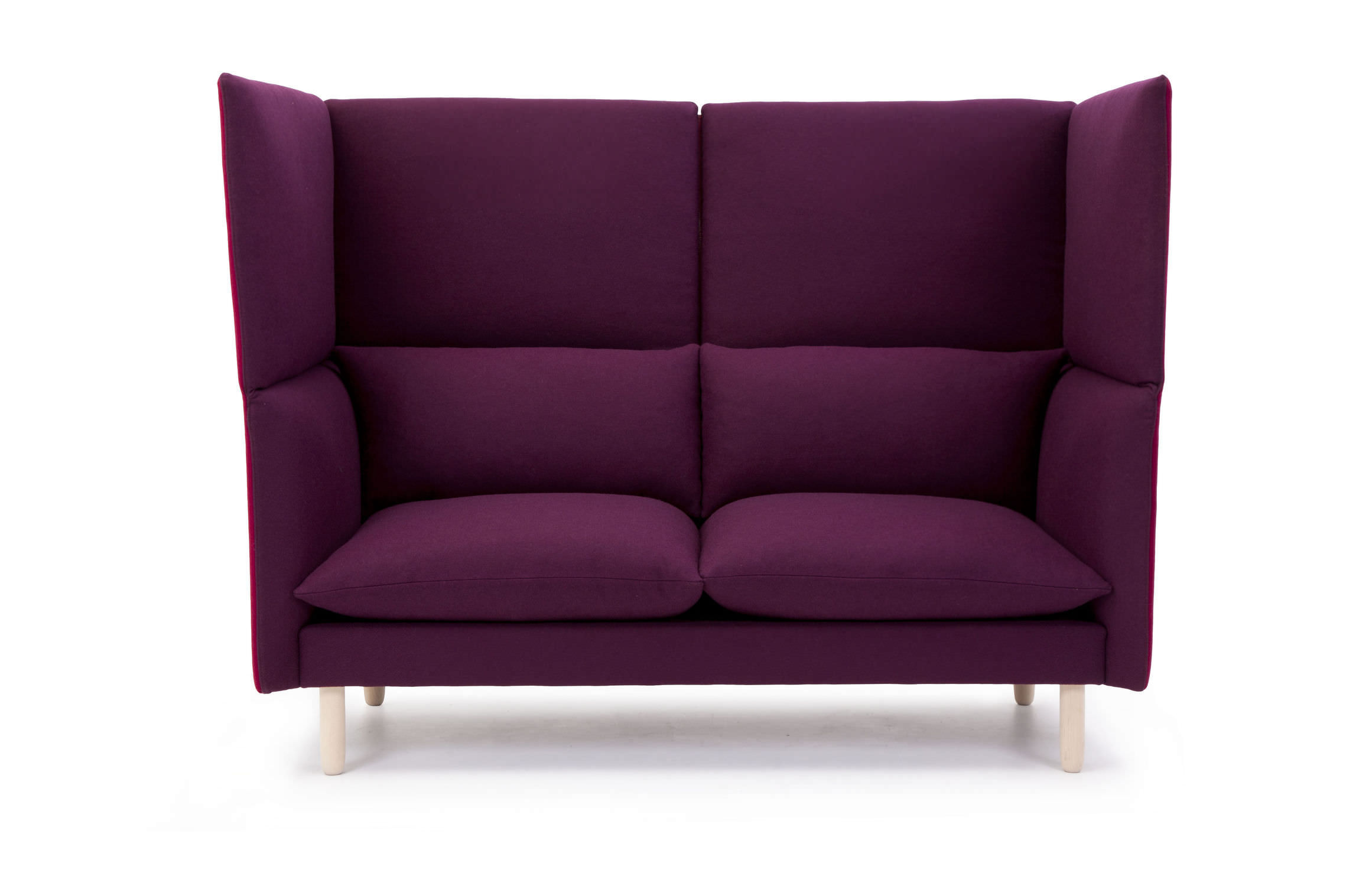 Verführerisch Hochlehner Sofa Foto Von Modernes / Stoff / 2 Plätze /