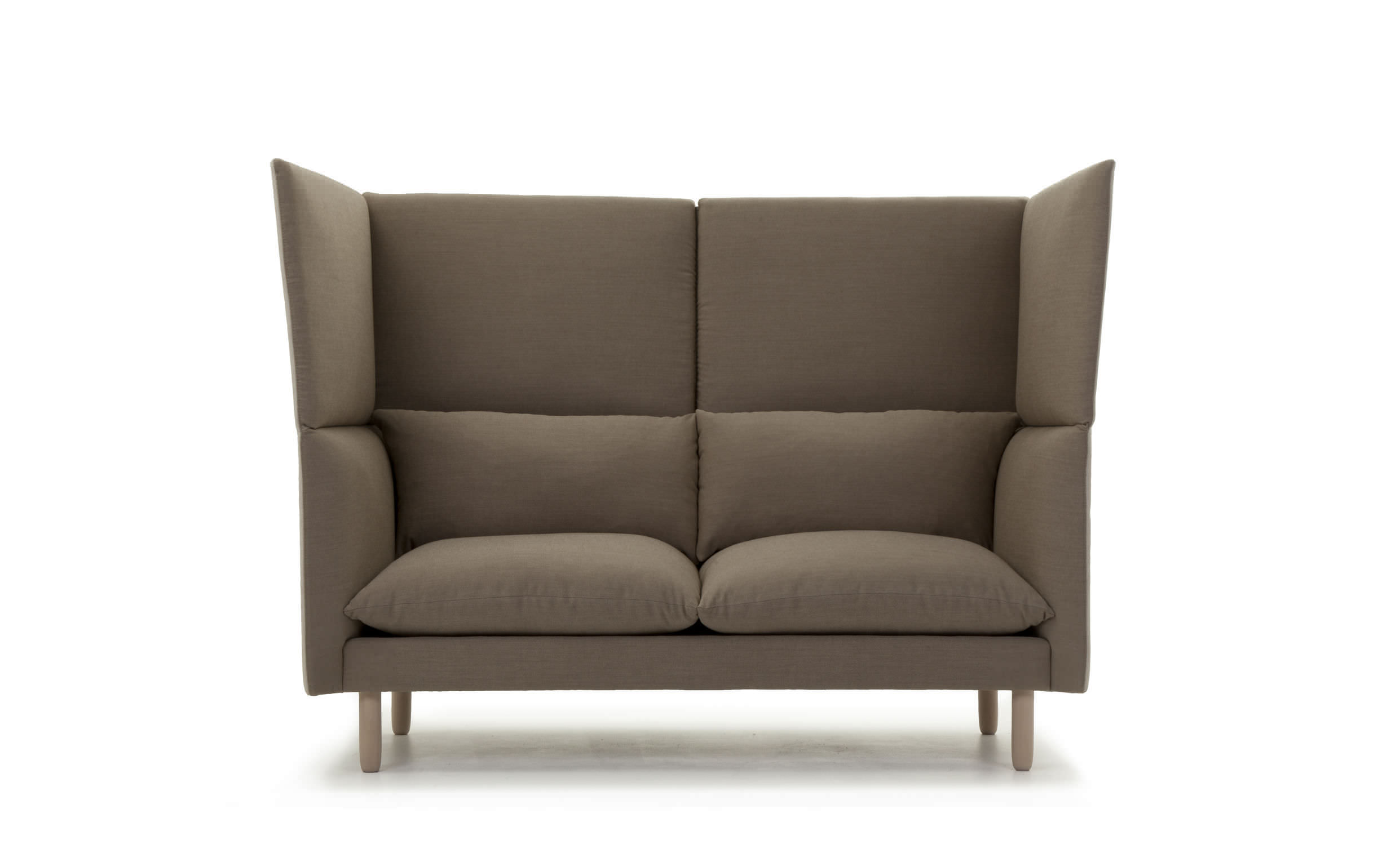 Verschiedene Hochlehner Sofa Galerie Von Modernes / Stoff / 2 Plätze /