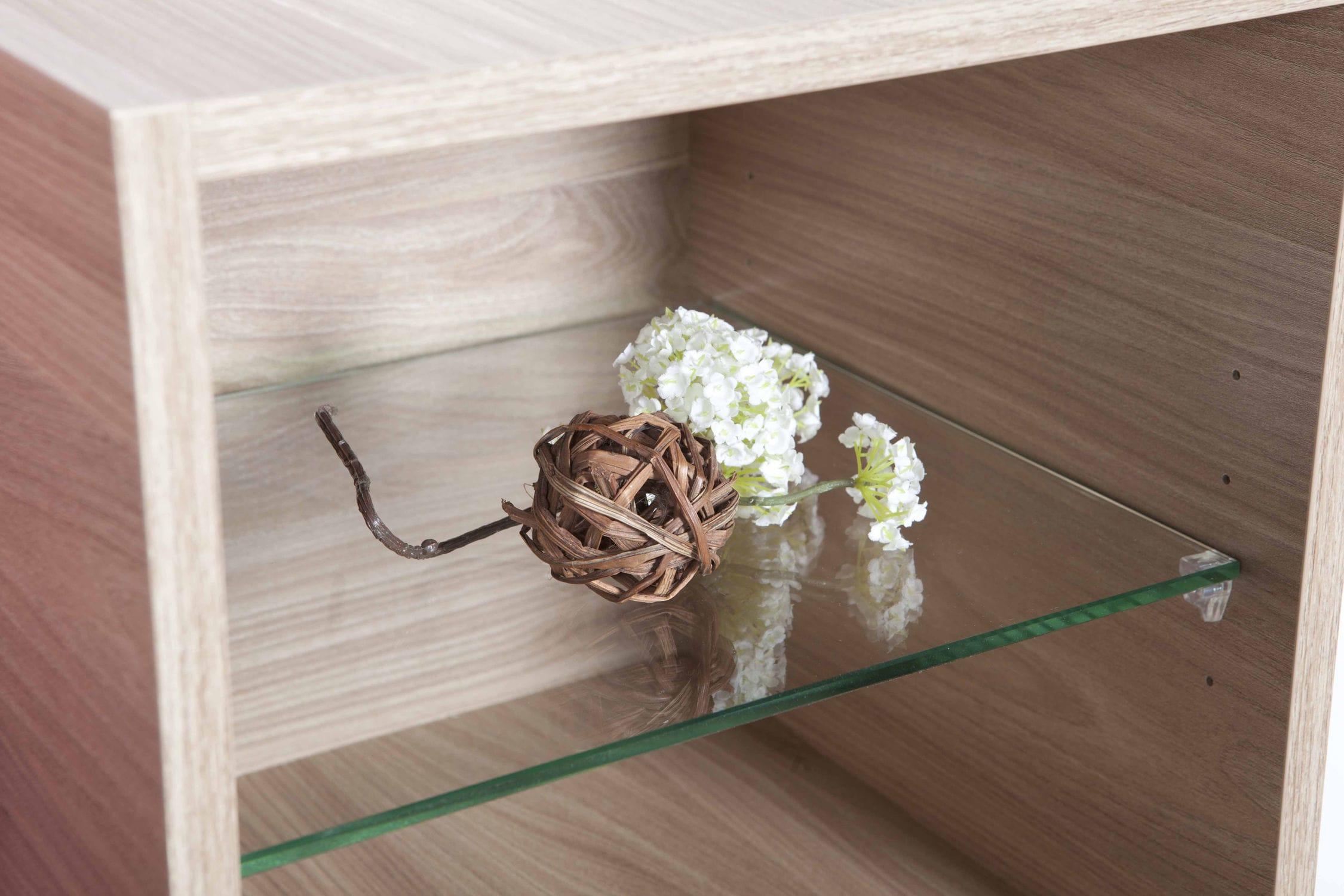 Wandmontiertes Regal / modern / Holz / Badezimmer - MODULO - FRAMO