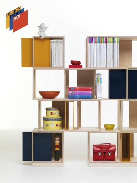 modul regal / modern / holz / wohnzimmer - twin box by nicola de ...