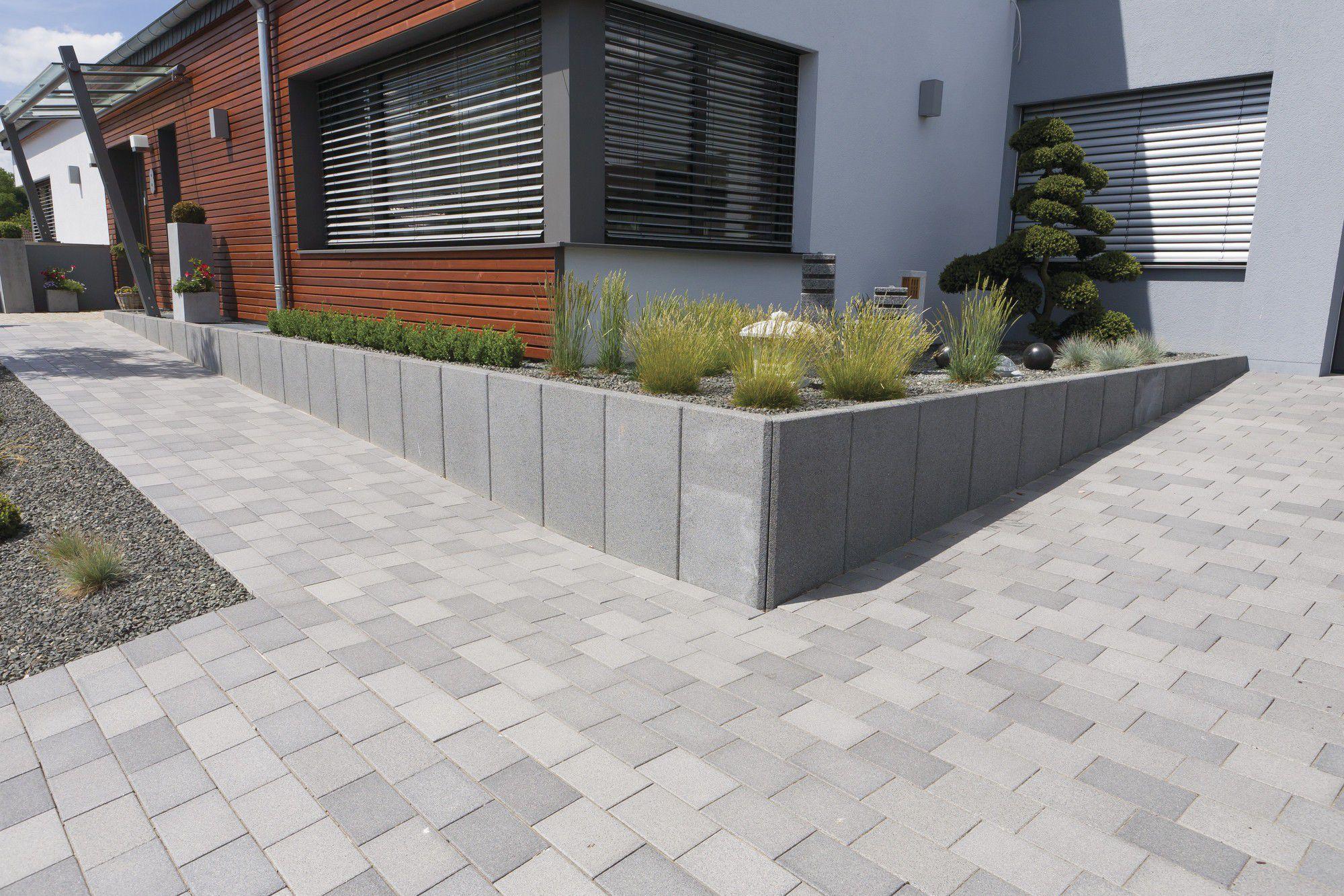 Stein-Stützmauer / Modulare / für Gartenzäune - Rinn Beton- und ...