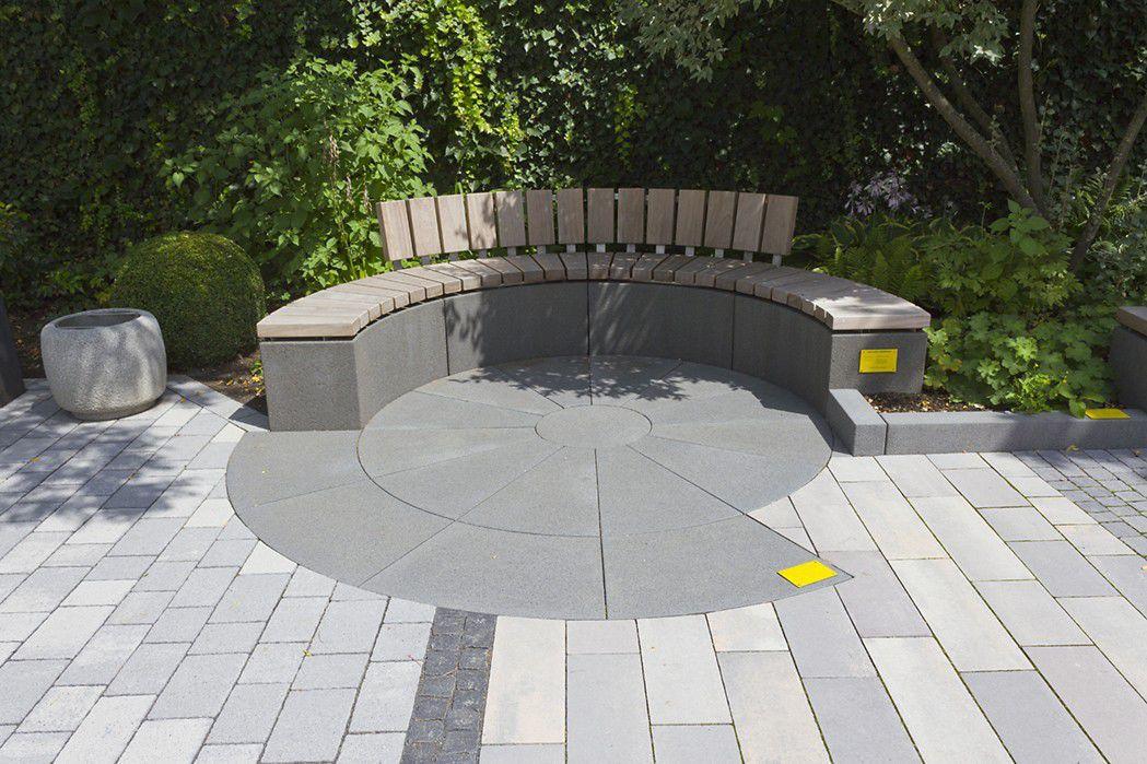 Gartenbank modern holz  Gartenbank / modern / Holz / Edelstahl - RINNIT PLATINUM - Rinn ...