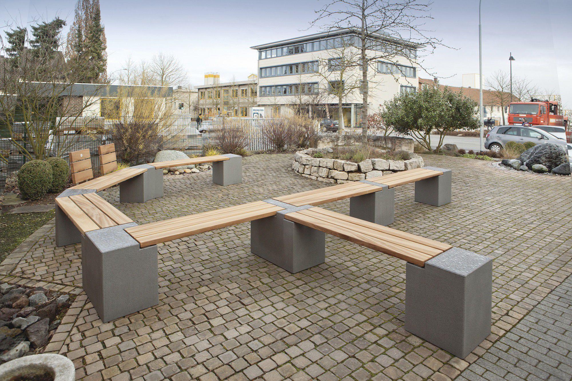 Gartenbank modern beton  Gartenbank Modern Holz Und Stein – igelscout.info
