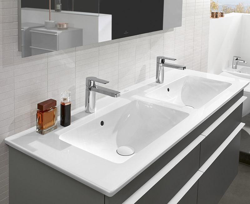 Waschbecken rechteckig mit unterschrank  Doppelwaschtisch Keramik Mit Unterschrank | gispatcher.com