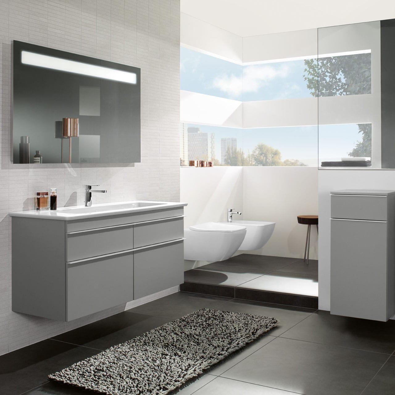 Modernes Badezimmer / Keramik - VENTICELLO - Villeroy & Boch - Videos