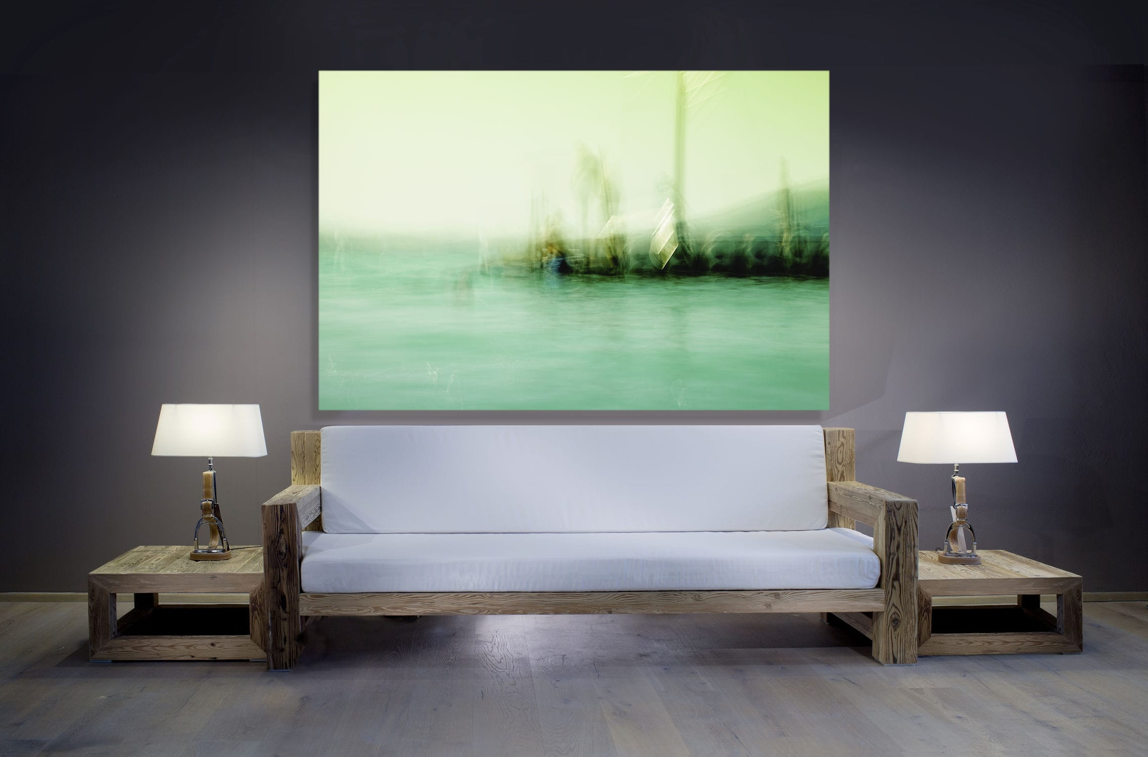 modernes sofa / garten / stoff / holz - by thomas reiner - alp maritim, Gartenarbeit ideen