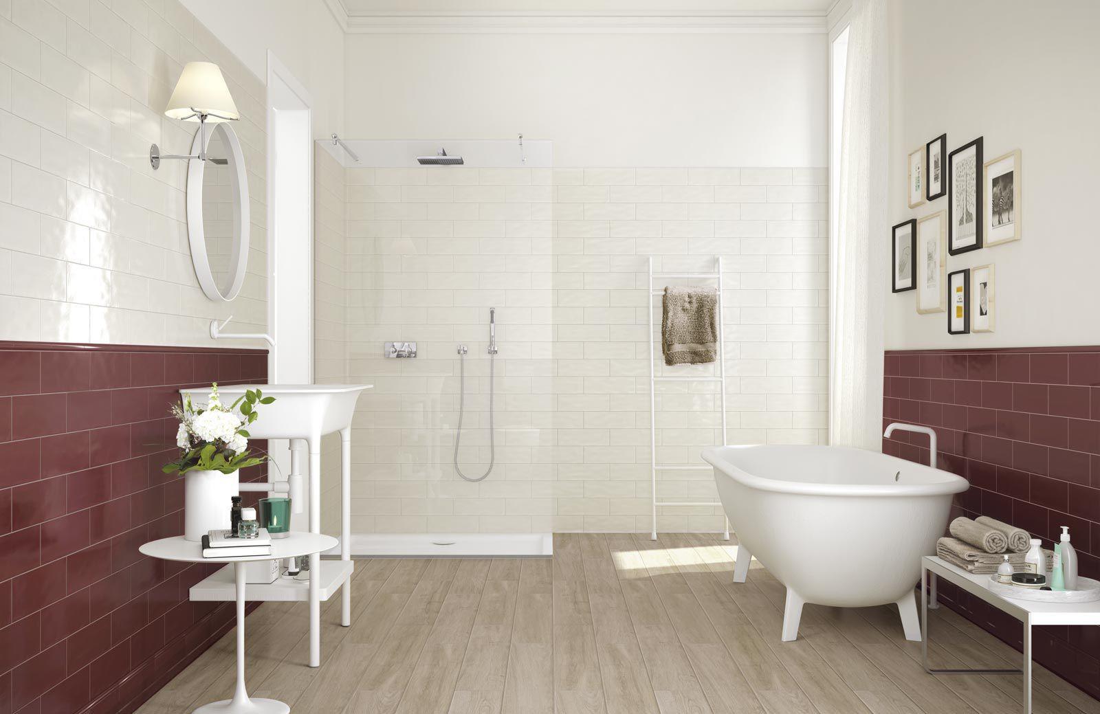Fliese für badezimmer / küchen / wandmontiert / aus keramik ...