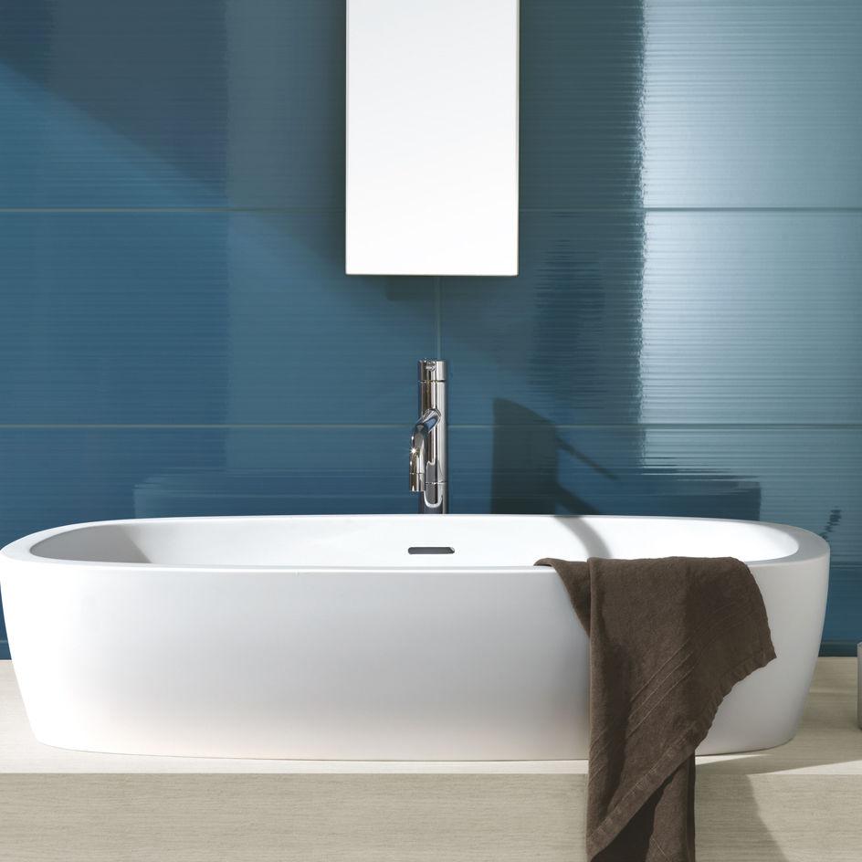 Fliesen für badezimmer / wandmontiert / aus keramik / hochglanz ...
