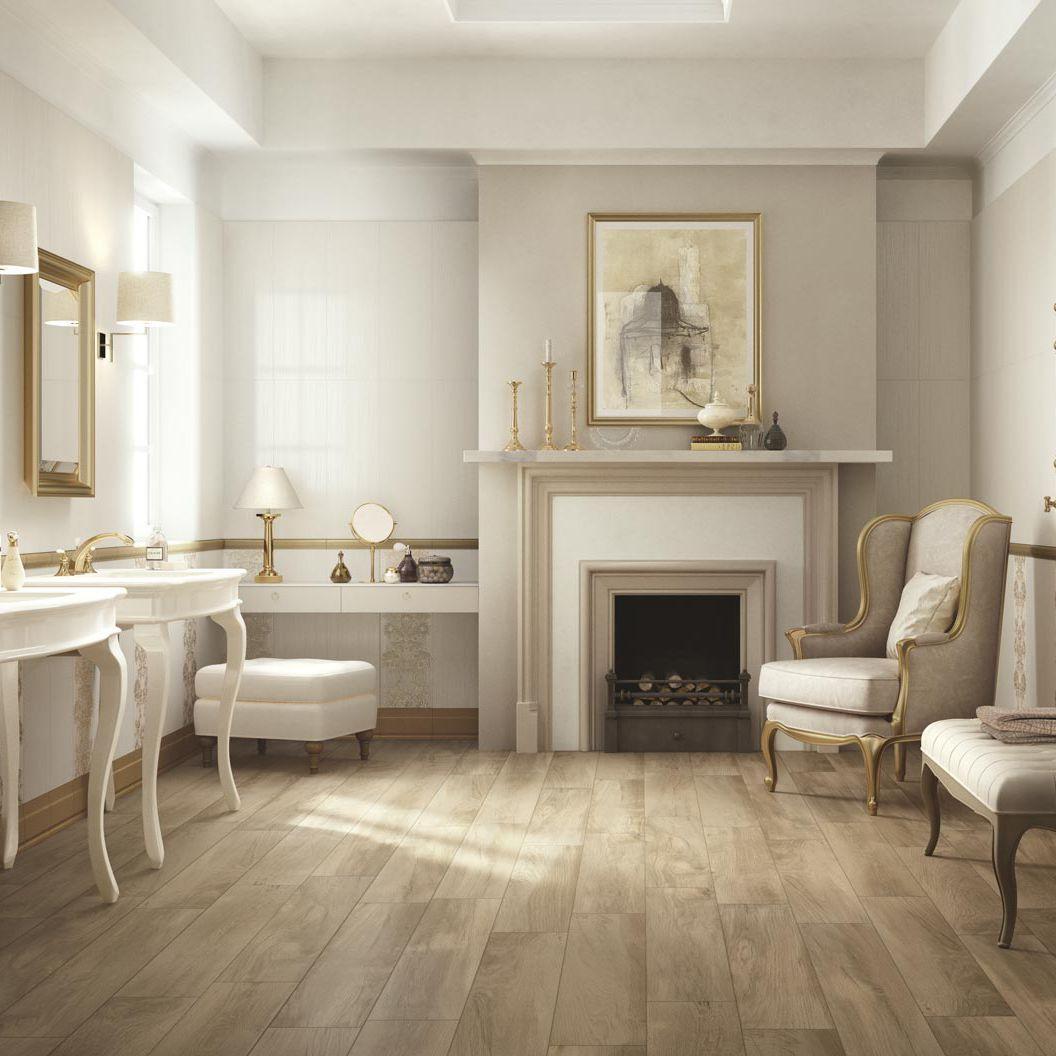 Fliesen für Badezimmer / Wand / Keramik / rechteckig - WALLPAPER - Ragno