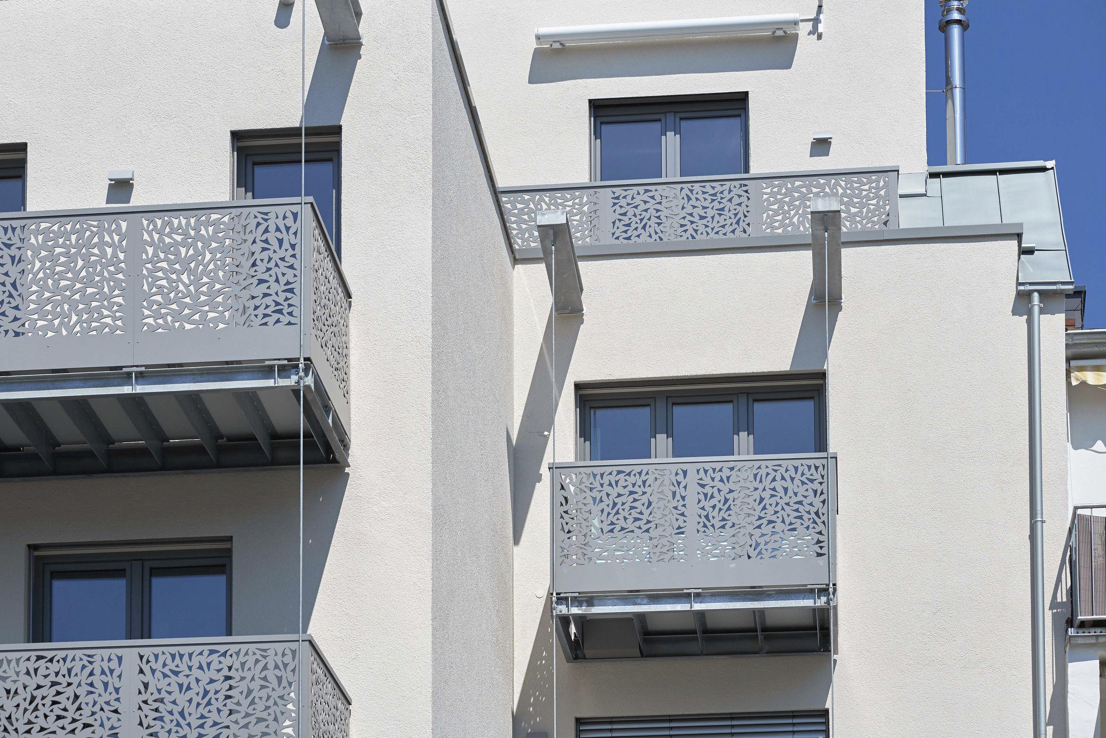 Hpl Geländer Platten Außenbereich Für Balkon Bv Rheinland