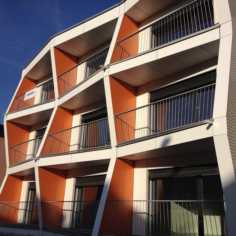 Hpl Platten Fassade fassadenverkleidung für hinterlüftete fassade / hpl / glatt