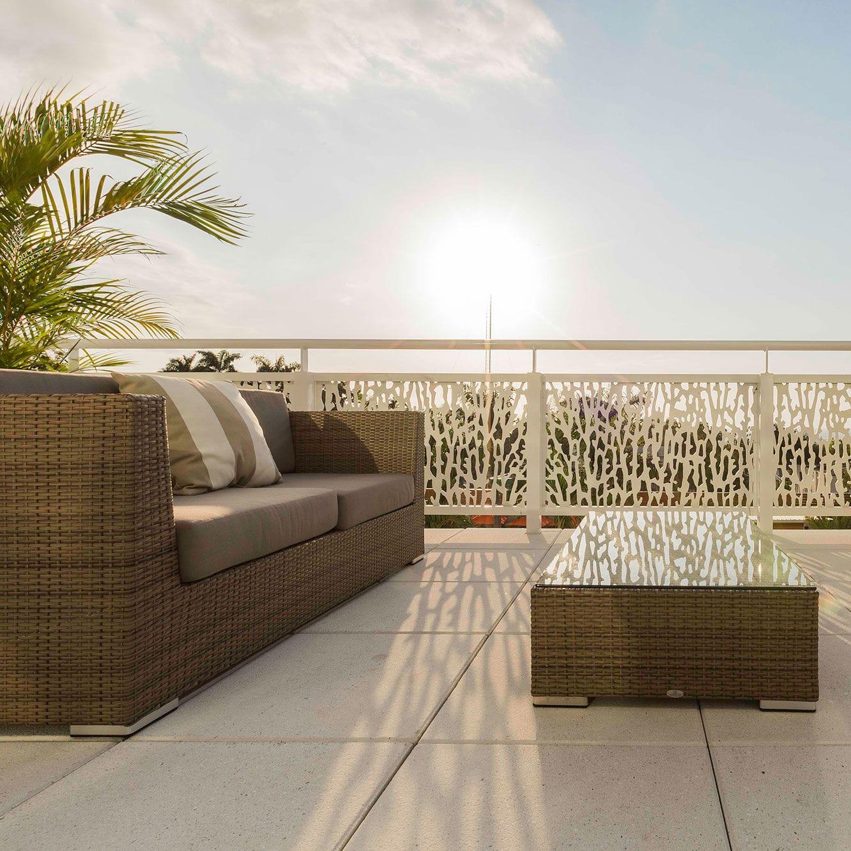 Hpl Gelander Platten Aussenbereich Fur Balkon Marriott Port