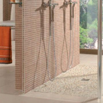 Mosaikfliese Fur Badezimmer Boden Aus Naturstein Strukturiert