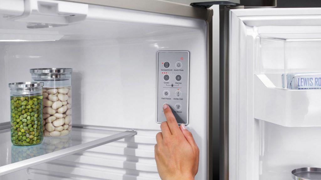Kühlschrank Wasserspender : Schubladen kühlschrank doppeltüren edelstahl mit wasserspender