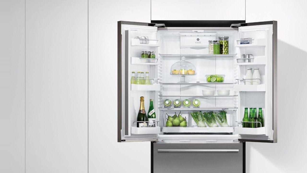 Kühlschrank Schubladen : Schubladen kühlschrank doppeltüren edelstahl mit wasserspender