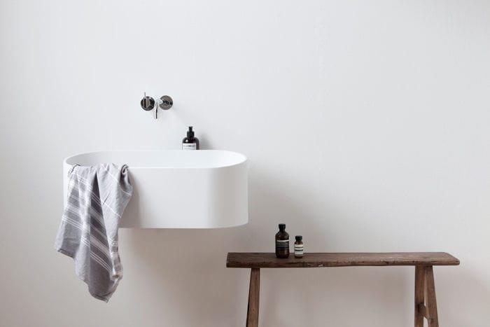 Doppelwaschbecken oval  Doppelwaschbecken / Wand / oval / Cristalplant® - FUSE by Marike ...