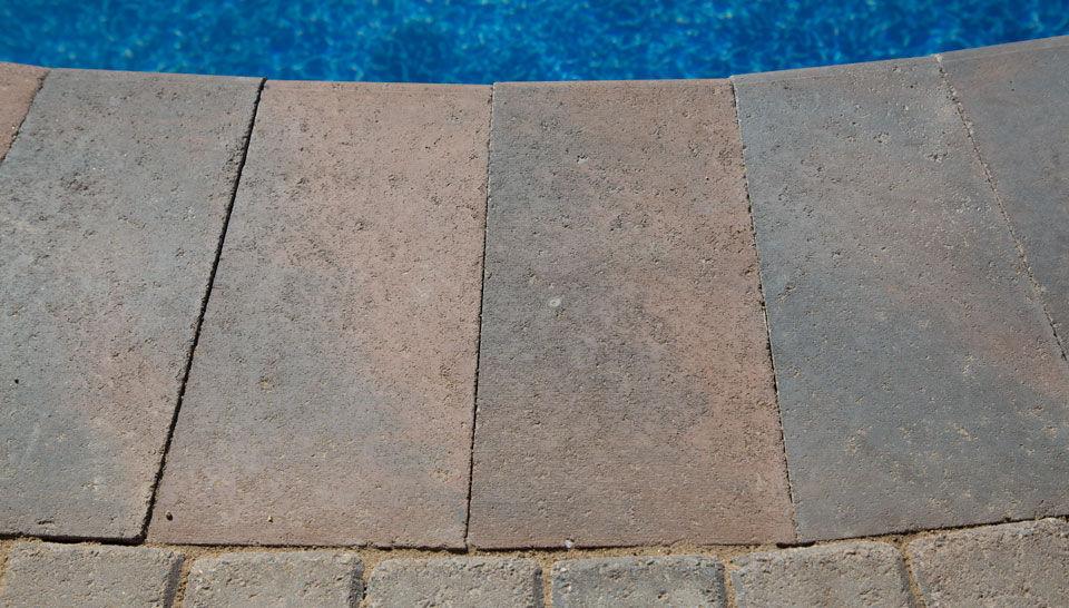 stein-poolumrandung - shaw brick,