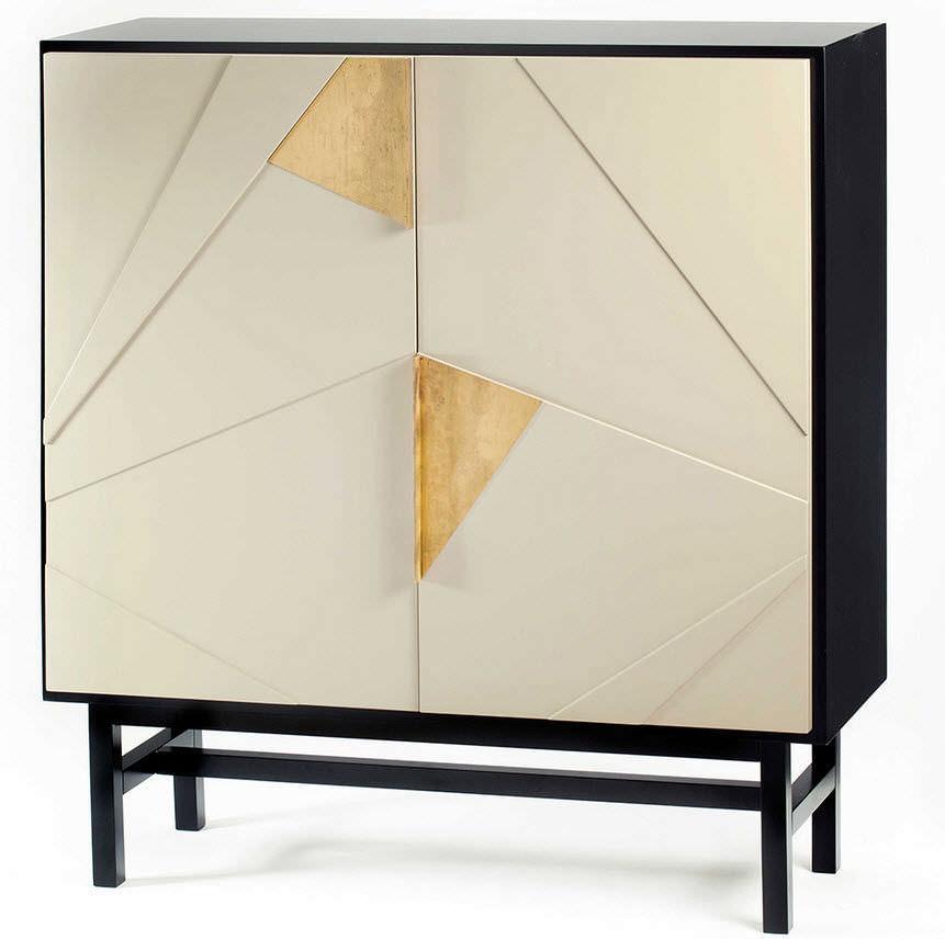 Moderner Barschrank / Messing / aus MDF - JAZZ - Mambo Unlimited Ideas