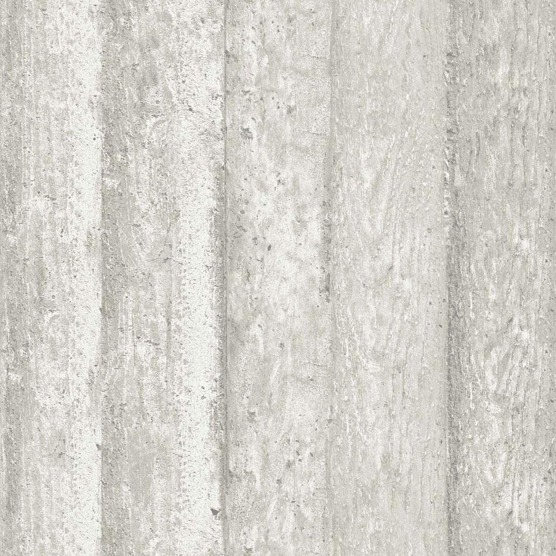 ... Moderne Tapeten / Streifenmuster / Holzoptik / Weiß SENSE OF WOOD Eco