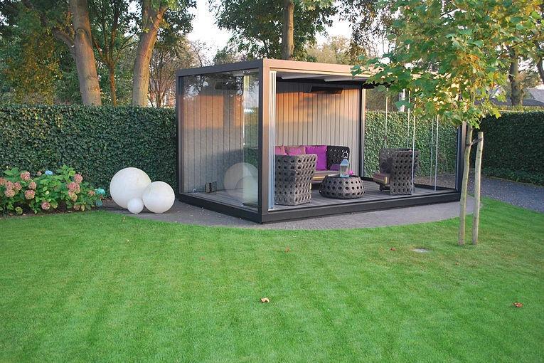 Gartenhäuser Modern glas-gartenhaus / modern / für privatgebrauch - roermond - liviq