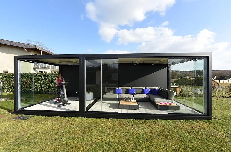 Glas Gartenhaus / modern / für Privatgebrauch   LUMMEN   Liviq