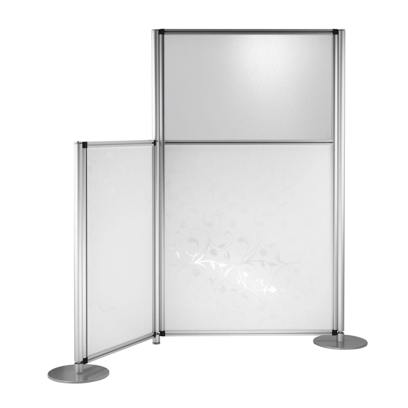 Abnehmbare Trennwand / Metall / Glas / Drahtgeflecht - PASSAGE SWP ...