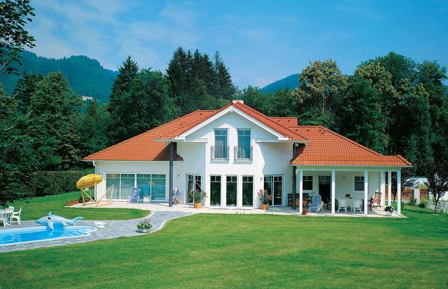 Villa landhaus modern  Passives Haus / Modul / modern / aus Holz - LANDHAUS SALZBURG ...