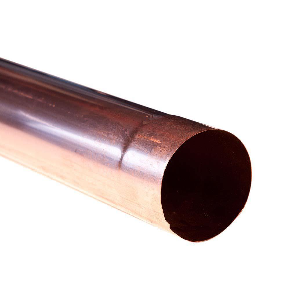 runde regenrinne / aus verzinktem stahl / kupfer / aluminium - Κ.801