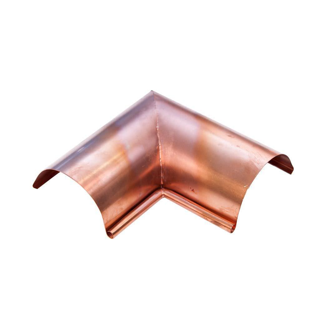 halbrunde regenrinne / kupfer - Κ.600 - biometal s.a.