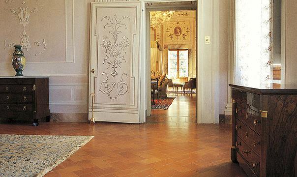... Wohnzimmer Fliesen / Für Fußböden / Aus Terrakotta / Aus Ton