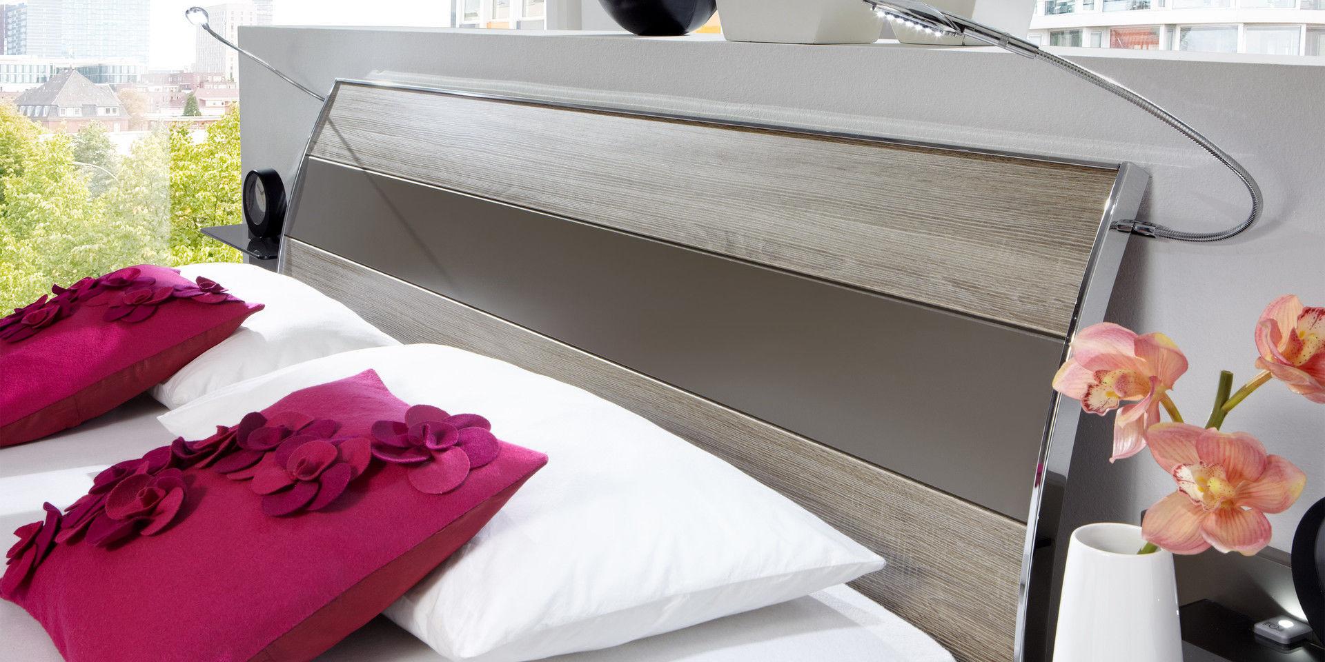 Doppelbett Modern Aus Eiche 160x200 Cm Ancona Wiemann