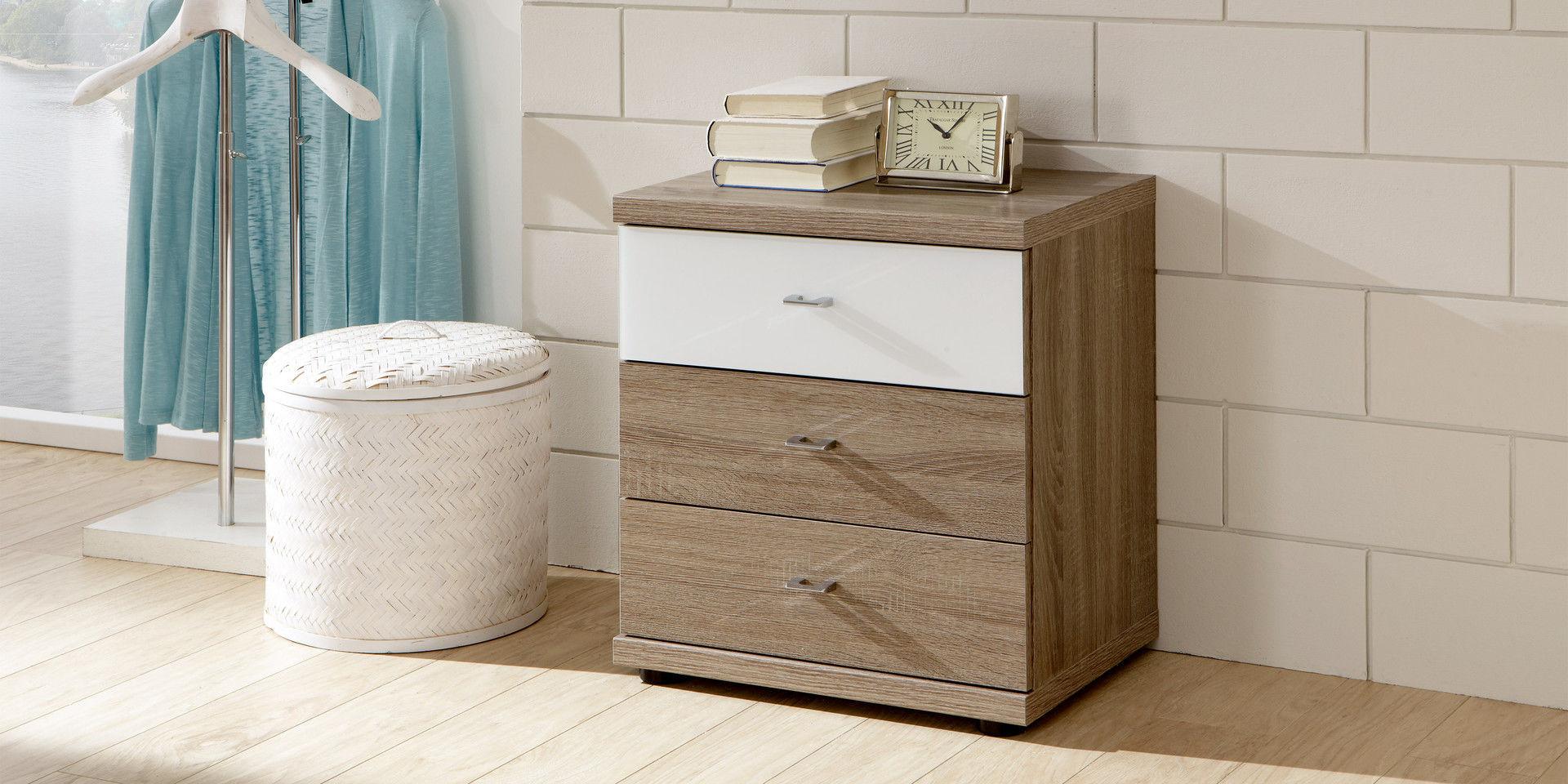 Moderner Nachttisch / Holz / mit Schublade - MIRO - Wiemann
