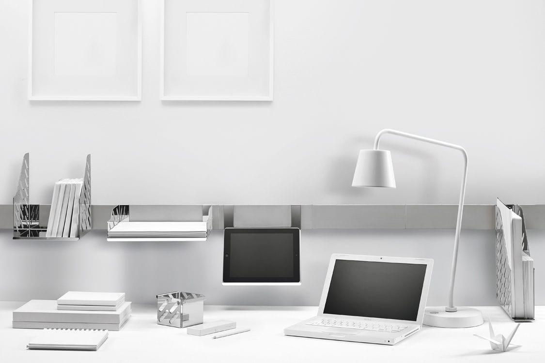 Bürobedarf ablage  Ablage für Bürobedarf / Magnetbefestigung - MAGNETIKA HOME OFFICE ...