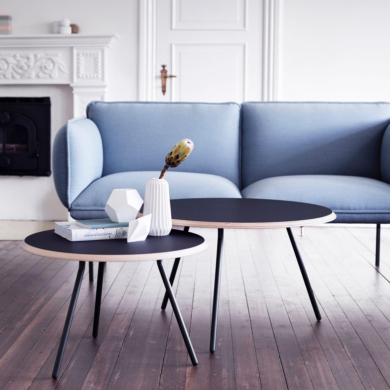 Gut Couchtisch / Skandinavisches Design / Metall / Beton / Aus Sperrholz    SOROUND By Nur
