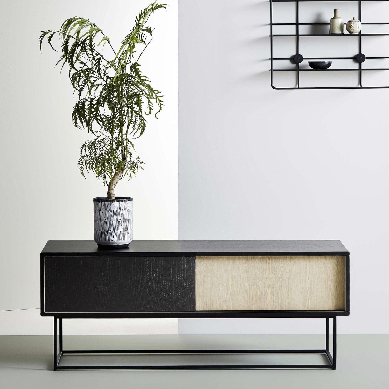 Sideboard design holz  Sideboard / Skandinavisches Design / aus Eiche / gestrichenes Holz ...