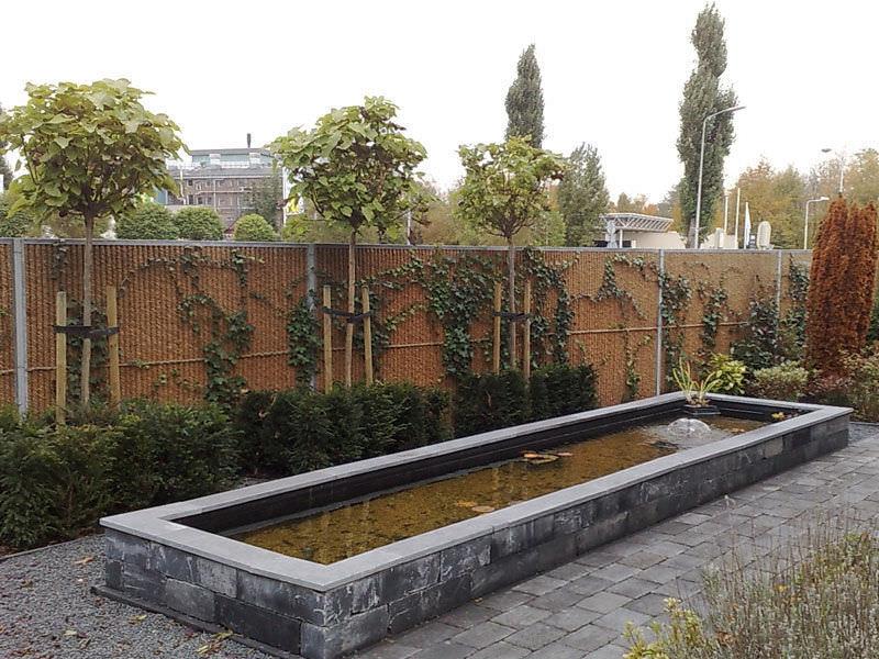 Schalldammender Zaun Garten Platten Aus Stahlblech Kokowall