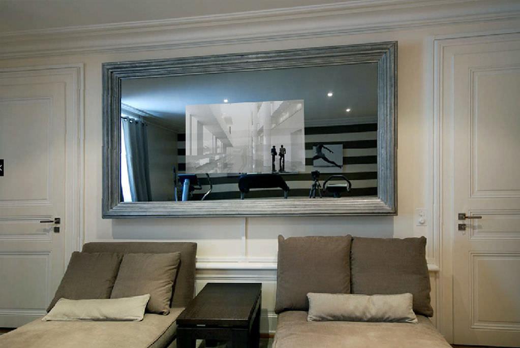Tv In Spiegel : Duriglass spiegel smart tv  mm fernsehen hoch