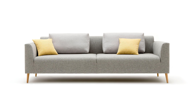 ... Modulierbares Sofa / Skandinavisches Design / Stoff / 2 Plätze ...
