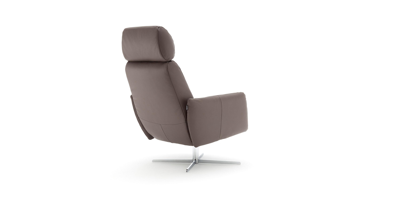 Moderner Sessel Stoff Mit Fußstütze Schrägstellbar 177 By