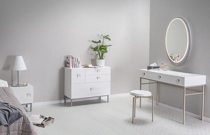 ... Wandmontierter Spiegel Für Badezimmer / Beleuchtet / Schlafzimmer /  Modern