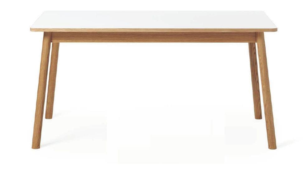 Tisch Skandinavisches Design esstisch skandinavisches design aus eiche laminat auszieh
